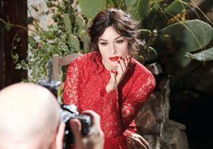 Exclu vidéo : Monica Bellucci shootée par Domenico Dolce