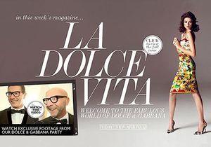 Dolce & Gabbana fait son entrée chez Net-à-porter