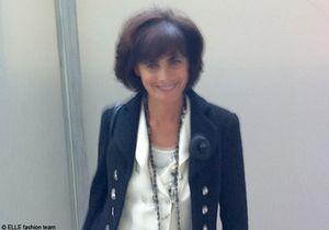 Inès de la Fressange a défilé pour Chanel