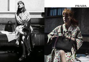 #PrêtàLiker : Jessica Chastain star de la campagne croisière 2017 de Prada