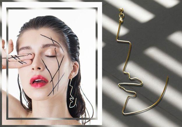 La boucle d'oreille qui change des traditionnels anneaux