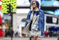 Street style : elles portent toutes la veste en jean