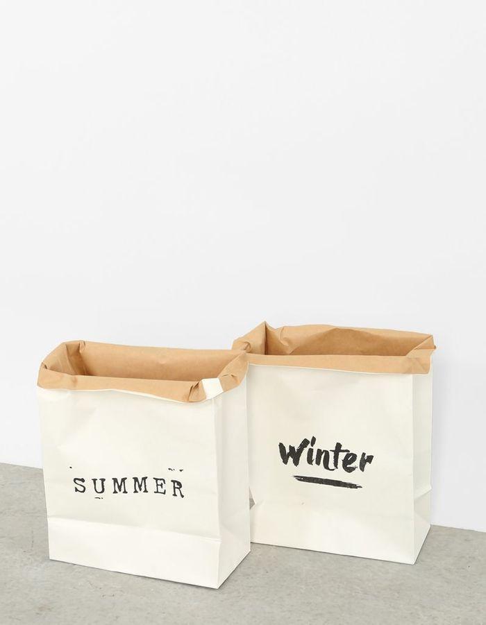 Sacs en papier blancs Pimkie Home