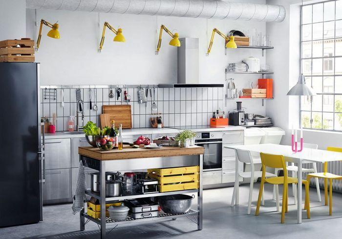 Cuisine Ikea esprit industriel