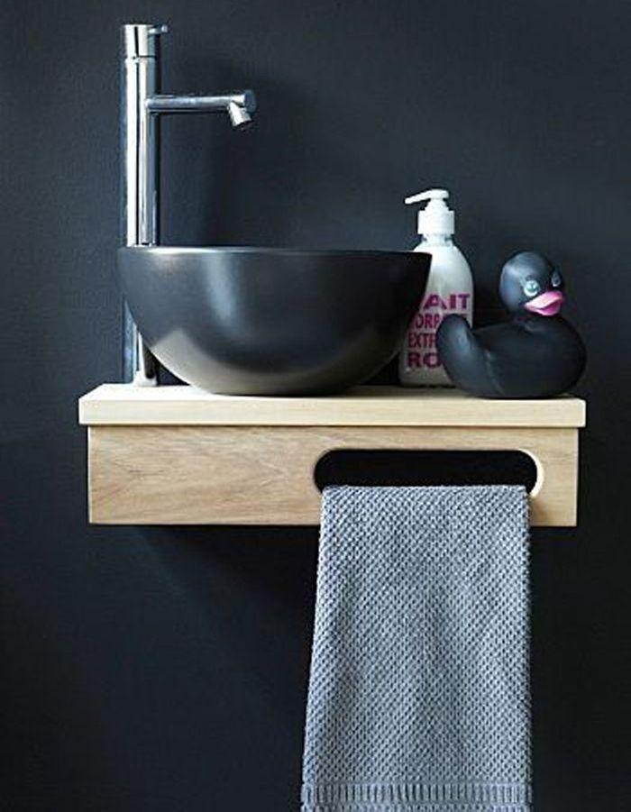 Décorer ses toilettes avec un joli lave-main