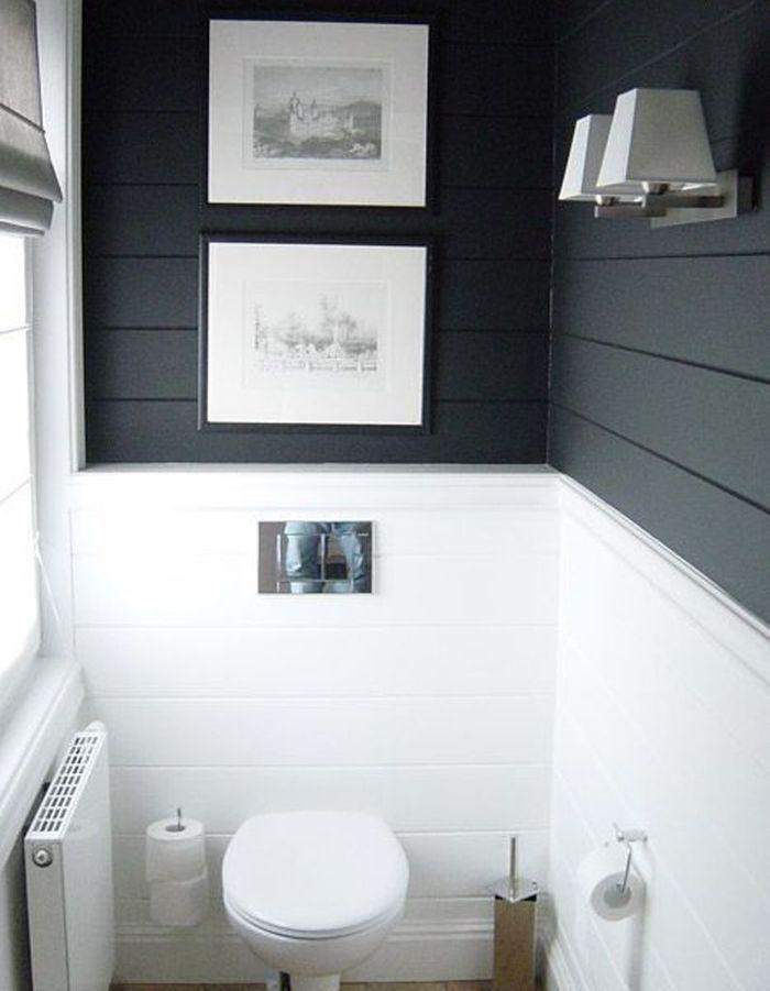 Décorer ses toilettes en noir&blanc