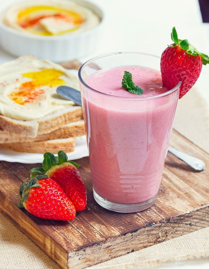 Milk-shake à la fraise Thermomix