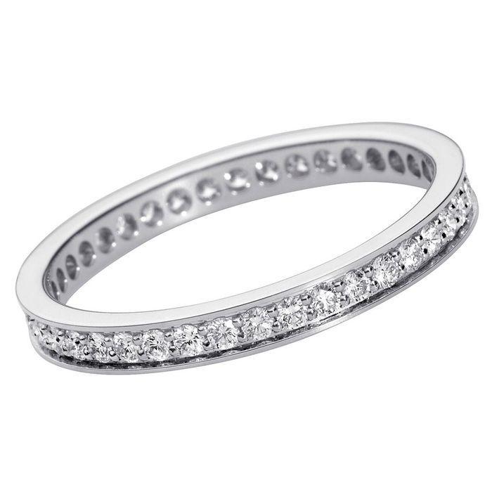 Alliance originale pavée de diamants Cartier