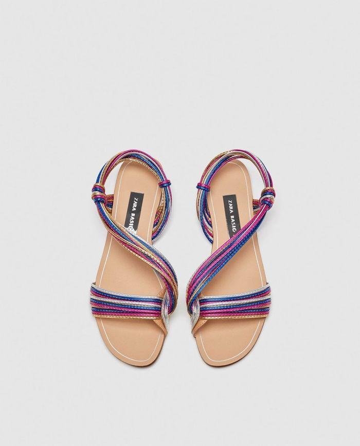 Sandales soldées Zara