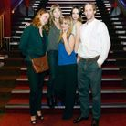 Louise Archambault avec l'équipe de «Suzanne »