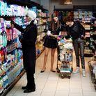 Karl au supermarché ?