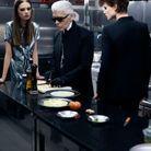 Karl Lagerfeld aux fourneaux